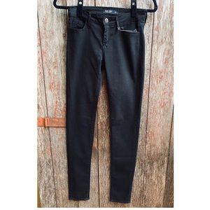 Just Black brand black skinny jeans